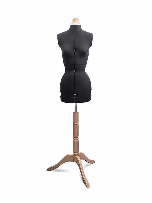 Раздвижной портновский манекен Adjustoform Lady Valet S/A, черный