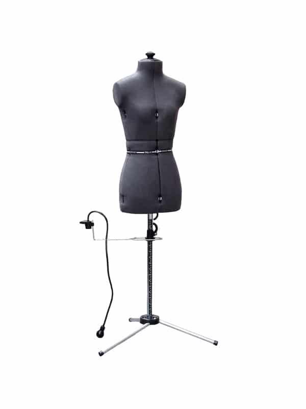 Раздвижной портновский манекен женский My Double S/A (42-52), серый