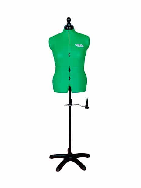 Раздвижной портновский манекен женский Celine Standard M/B (50-58), зеленый (Копировать)