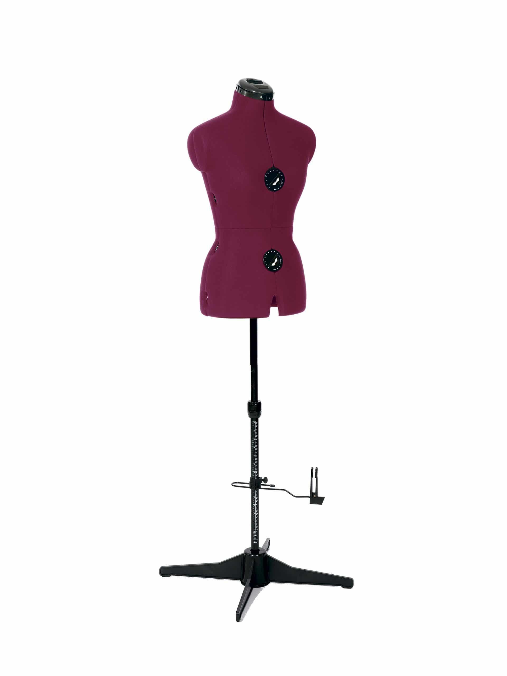 Раздвижной портновский манекен женский Tailormade S/A (42-52), розовый
